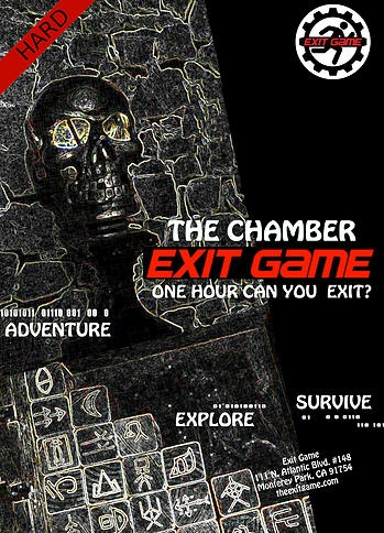 Escape Game The Chamber, Exit Game. Los Angeles.