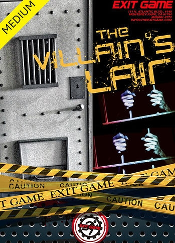 "Escape Game The Villian""s Lair, Exit Game. Los Angeles."